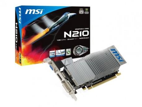 MSI tarjeta gráfica N210-MD1GD3H/LP GF210 1GB DDR3