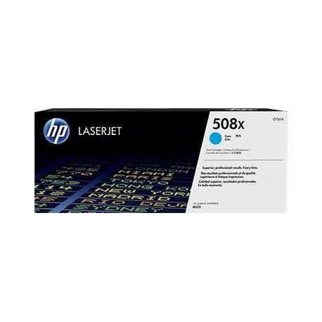 HP toner cyan 508X CF361X 9500 páginas para MFP