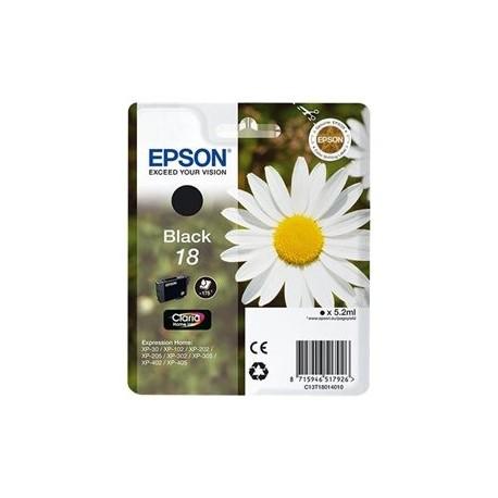 Epson cartucho de tinta negro 18 (T1801) 175 pág.