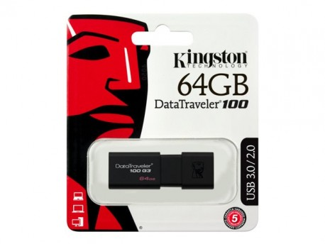 Kingston DataTraveler 100 G3 - Unidad flash USB64