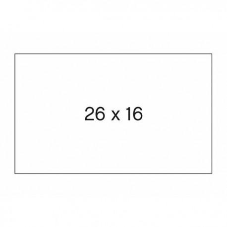 Apli etiquetas 100917 26X26 perforadas en rollo