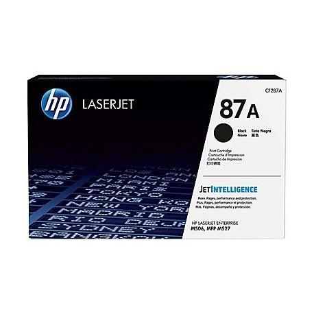 HP toner negro 87A CF287A 9000 págninas Enterpris