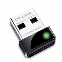 TP-Link adaptador de red WIFI TL-WN725N N150 nano