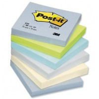 3M Post-it notas 654ML 76x76mm colores