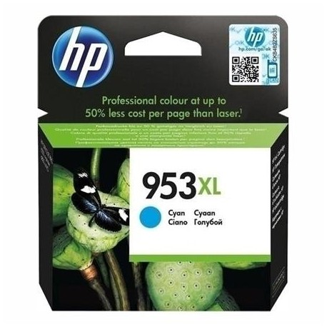HP cartucho tinta cyan 953XL 1600 paginas Officej