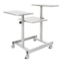 3M mesa para proyector Mod.D.330 gris claro 4 rued