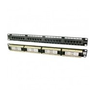 "LogiLink patch panel 19"" Cat6 UTP 24 puertos RJ45"