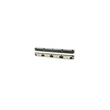 "LogiLink patch panel 19"" Cat6 UTP 24 puertos RJ45"