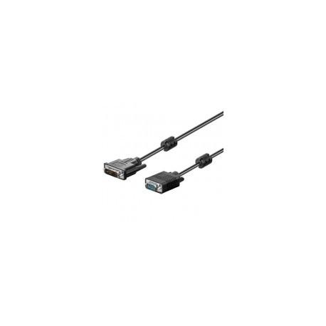 Cable DVI-I macho - a - VGA- macho HD 5 metros