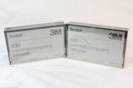 3M Cinta cassette 830 C30 15 minutos