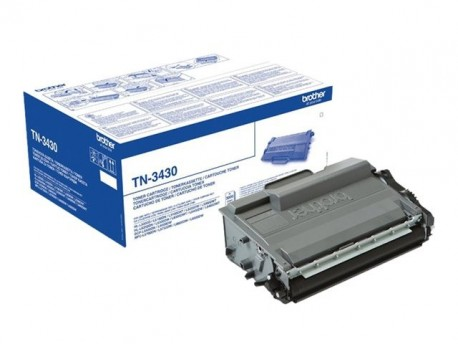 Brother toner negro TN3430 - 3000 paginas