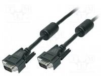 Logilink cable SVGA 15 macho - 15 macho 5m. CV0003