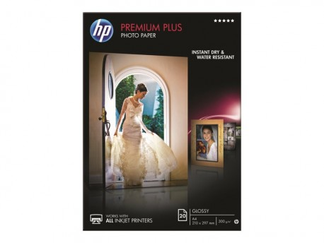 HP Papel fotografico CR672A Premium Plus A4 brilla