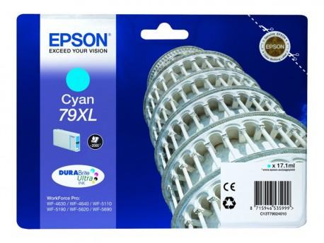 Epson cartucho de tinta cyan 79XL C13T79024010