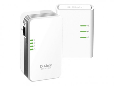 D-Link PowerLine DHP-W311AV - Starter Kit HomePlug