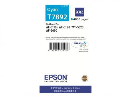 Epson cartucho de tinta cyan 79XXL C13T78924010