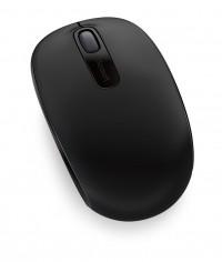 Microsoft ratón1850 - Inalámbrico - Negro- RF 2.4