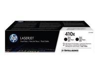 HP toner negro 410X CF410XD 6500 páginas X 2 uni.