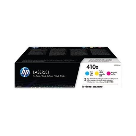 HP toner tricolor 410X CF252XM 5.000 páginas x 3