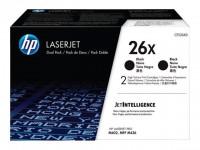 HP toner negro 26X CF226XD 9000 páginas 2 unidades