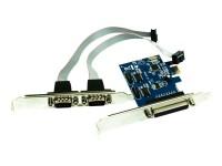 Approx! Tarjeta PCIe 1 puerto paralelo y 2 serie