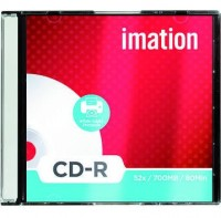 Imation CD-R 700MB 80 minutos 52x impri. 10 uni.