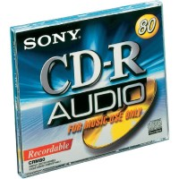 Sony CD-R AUDIO 650Mb 74minutos 10 unidades