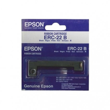 Epson cinta impresora ERC-22B S015204 M180-190