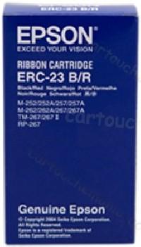 Epson cinta impresora ERC-23 S015216 M-250 bicolor