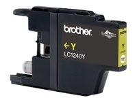 Brother cartucho de tinta LC1240Y amarillo