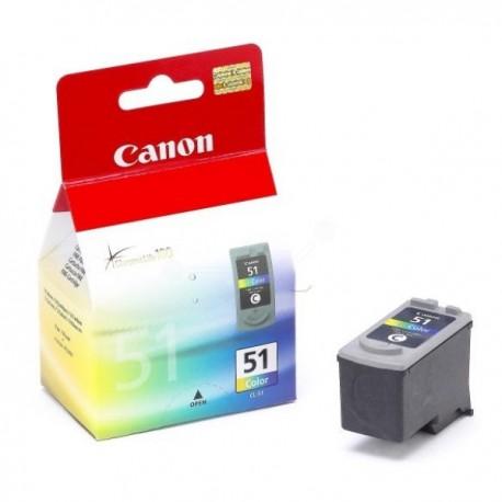 Canon cartucho de tinta tricolor CL51 0618B001Pixm