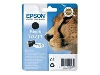 Epson cartucho de tinta negro T0711 7,4 ml.