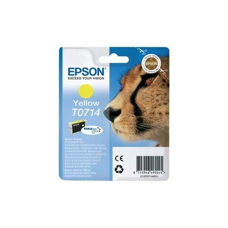 Epson cartucho de tinta amarillo T0714 5,5 ml.