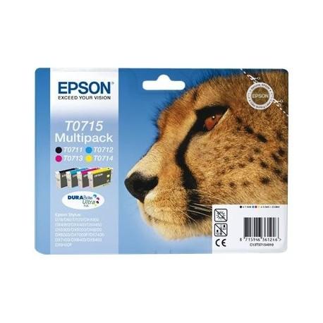 Epson cartucho de tinta multipack T0715 Stylus DX9