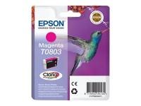Epson cartucho de tinta magenta T0803 600 páginas