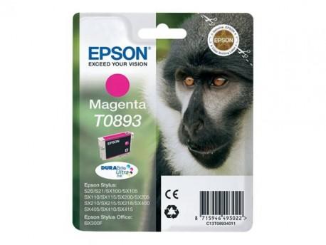Epson cartucho de tinta magenta T0893 180 páginas