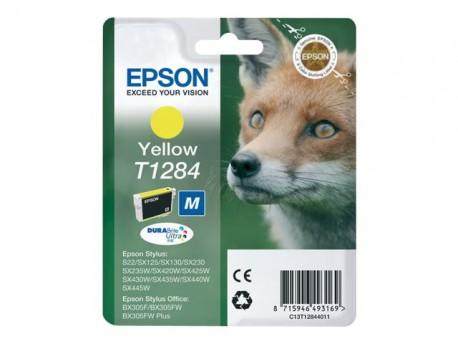Epson cartucho de tinta amarillo T1284 3,5 ml.