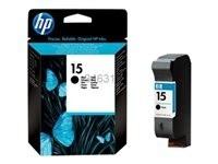 HP cartucho de tinta negro 15D C6615DE 500 página