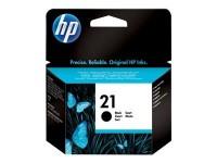 HP cartucho de tinta negro 21 C9351AE 190 páginas