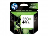 HP cartucho de tinta negro 350XL CB336EE 1000 pagi