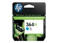 HP cartucho de tinta cyan 364XL - CB323EE