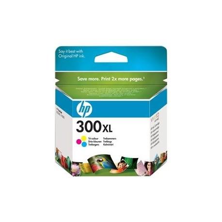 HP cartucho de tinta tricolor 300XL CC644EE 440 pá