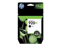 HP cartucho de tinta negro 920XL CD975AE