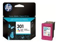 HP cartucho de tinta tricolor 301 CH562EE