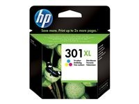 HP cartucho de tinta tricolor 301XL CH564EE 330 p
