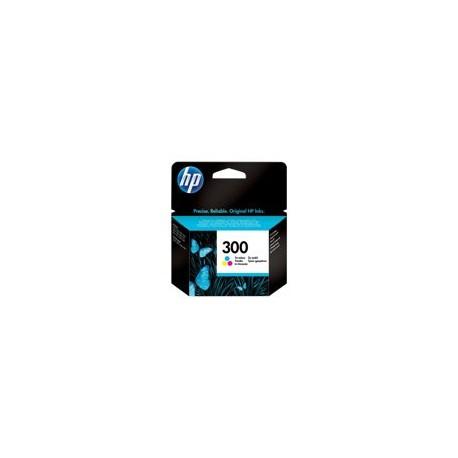 HP cartucho de tinta tricolor 300 CC643EE 165 pág