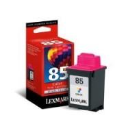 Lexmark cartucho tinta color 85 12A1985E 470 pag