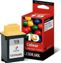 Lexmark cartucho tinta color 19 15M2619 260 pági
