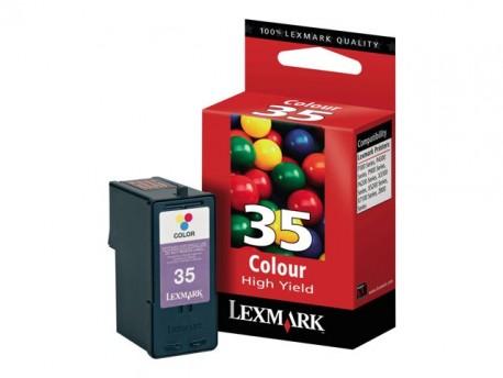 Lexmark cartucho tinta color 35 18C0035 500 pag