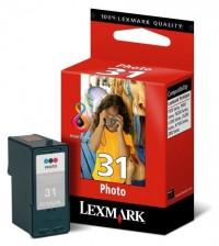 Lexmark cartucho tinta color photo 31 18C0031
